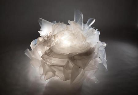 مبلمان خاص ساخته شده از مواد بازیافتی