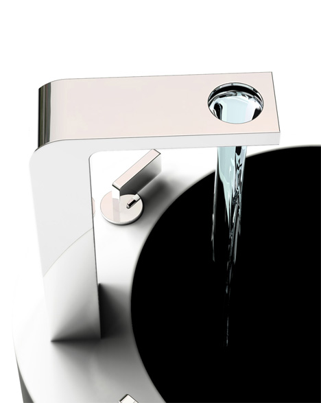 Production Of Creative Faucets and Sinks