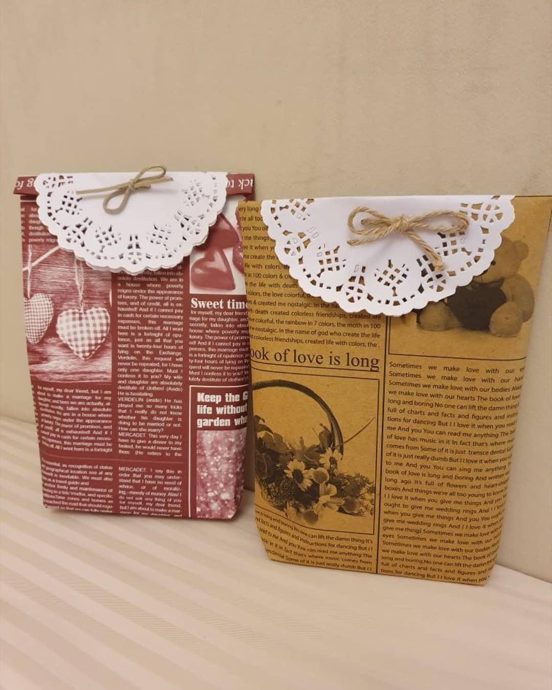 بسته بندی مخصوص کادو