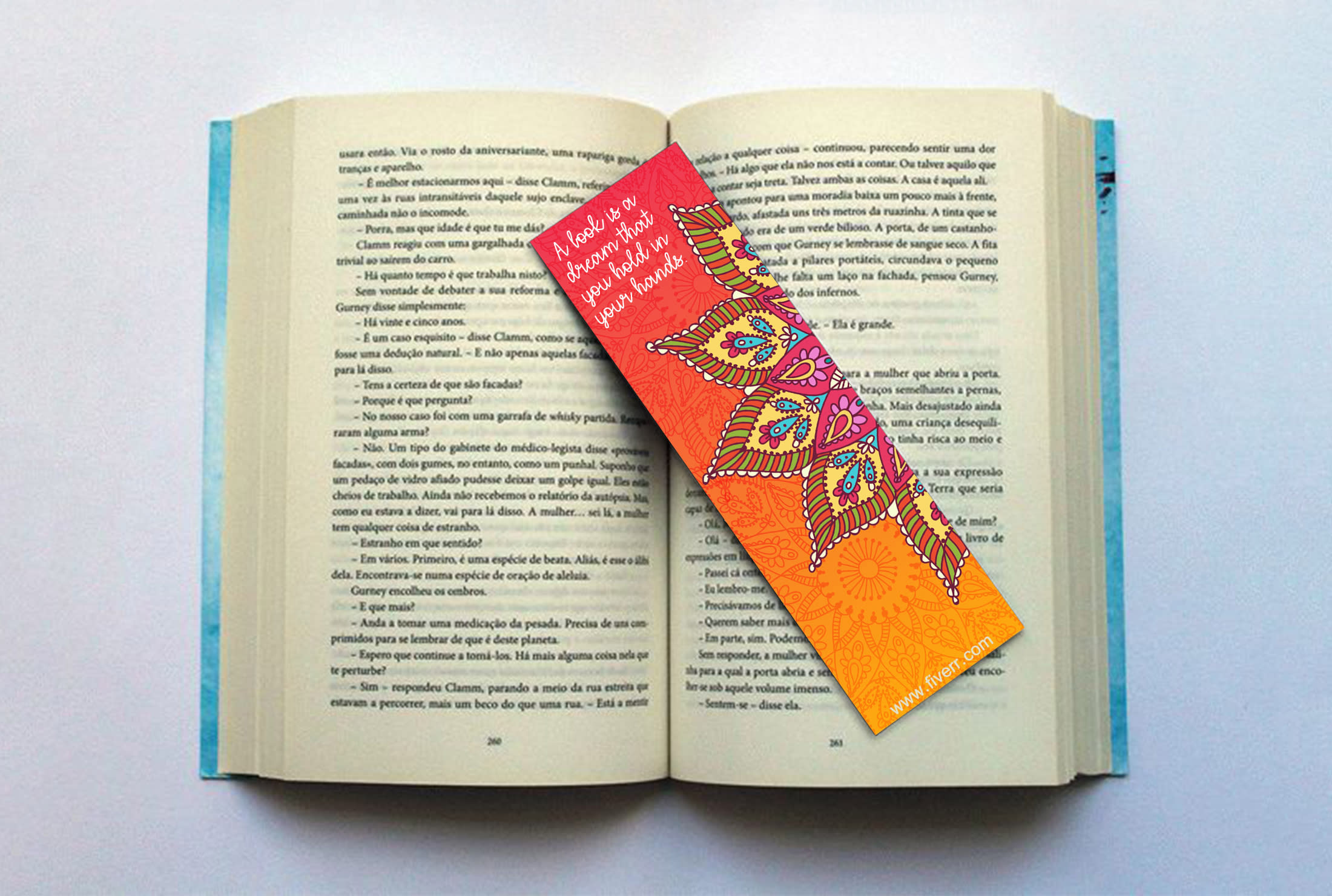 Manufacturing Bookmarks