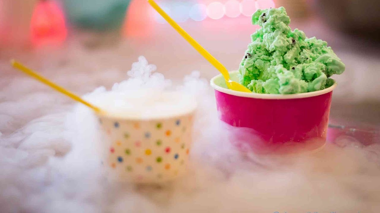 بستنی نیتروژنی
