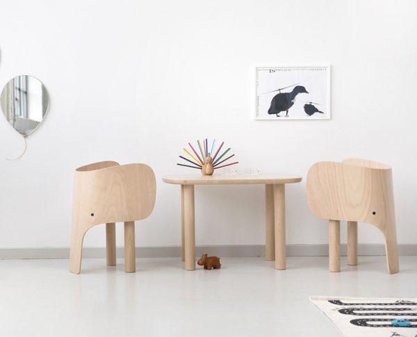 تولید صندلی های منحصر به فرد کودکان