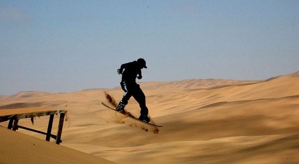 اسکی روی ماسه
